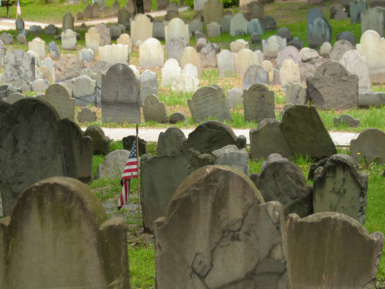 Old Granary Burying Ground Fotos
